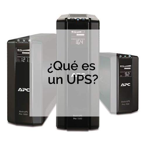 ¿Qué es un UPS?